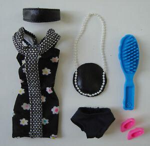 Barbie Clothes/Fashions Floral Dress, Purse, Headband, Shoes NEW!!