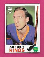 1969-70 TOPPS  # 100 KINGS DALE ROLFE  NRMT-MT CARD (INV# C6314)