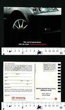 TOYOTA - PROVATE LA DIFFERENZA - JOIN THE CLUB - THE NE(X)T GENERATION - 57040