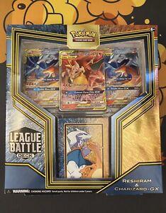 Pokemon TCG League Battle Deck Featuring Reshiram & Charizard GX Factory Sealed