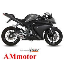 Impianto Completo Mivv Yamaha Yzf R125 2015 15 Scarico Gp Titanio Moto