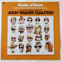 The John Wagner Coalition ‎– Shades Of Brown (VG++) James Brown, Funk, Soul RE
