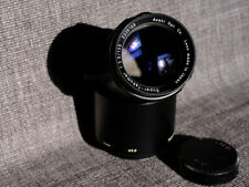 Asahi Super Takumar f3.5 135mm M42 mount lens + genuine lens hood & case