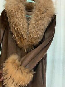 vintage pony fur fox jacket size small Neiman Marcus 1960s