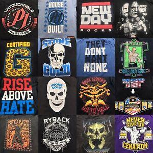 Lot of 20 WWE Stone Cold Edge John Cena CM Punk T-Shirt Men's 1632