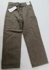 GYMBOREE BOYS BROWN HERRINGBONE HOLIDAY FANCY DRESS PANTS SZ 6 NWT