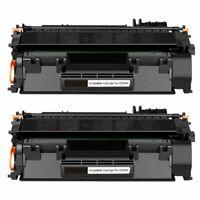 2Pk CE505A 05A Black Toner Cartridge For HP CE505A/05A Laserjet P2055 P2035