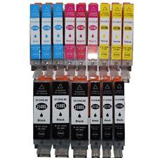 15 PK INK PGI-250 CLI-251 XL NON-OEM FOR CANON PIXMA iP7220 MG5420 MG6320 MX722