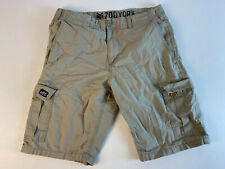ZOO YORK Mens Cargo Khaki Shorts Size 30