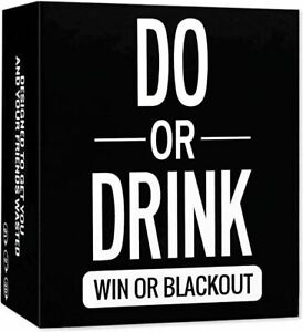 Do or Drink - Drinking Card Game for Adults - Fun & Dirty Party AU&FAST