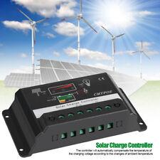 30A Pannello Batteria Regulator Regolatore di Carica Solare Controller 12V/24V
