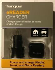 TARGUS eREADER CHARGER Kindle, Nook, Sony Readers NIB!! Free First Class In U.S.