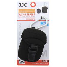 NEW JJC Lens Case (M) MEDIUM SIZE neoprene Protector Bag with Metal Hook