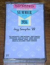 SPRING INTO SUMMER MCA JAZZ SAMPLER '88 Compilation Jazz MC MCA 1988