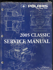 2005 POLARIS CLASSIC SNOWMOBILE SERVICE MANUAL  / 9919301 new in plastic