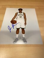 Jabari Parker Duke Milwaukee Bucks Kings Autographed Signed 8X10 Photo W/COA