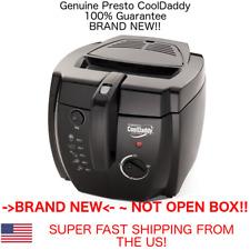 GENUINE Presto 05442 CoolDaddy Electric Deep Fryer Fry Daddy FAST US SHIPPER!