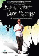 BUY THE TICKET, TAKE THE RIDE: HUNTER S. THOMPSON ON FILM Movie POSTER 27x40