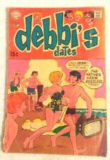 Comic Book Rare Old DC Sliver Age Debbi's Dates # 3 1969 15 Cent 2.5