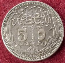 Egipto 5 Piastres 1917 (C2210)