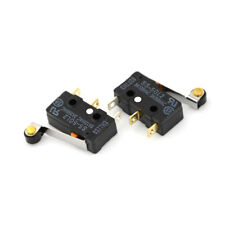 2Pcs SS-5GL2 Hinge Roller Lever SPDT 3Pin Subminiature Basic Limit Switch FG