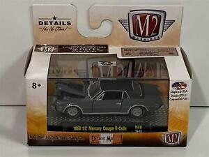 Limited 1968 1/2 Mercury Cougar R-Code R48 19-19 1:64 Scale M2 32600