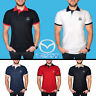 Mazda Polo T Shirt COTTON EMBROIDERED Auto Car Logo Tee Mens Clothing Sport Gift