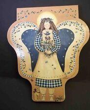 Folk Art Angel Shaped Board Photo Album Linda Spivey Havoc Publishing 1999