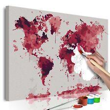 Malen nach Zahlen Erwachsene Wandbild Malset mit Pinsel Malvorlagen n-A-0306-d-a
