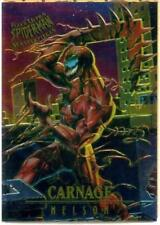 1995 FLEER ULTRA SPIDERMAN MASTERPIECES CARD 2 OF 9 Carnage