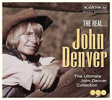 JOHN DENVER THE REAL...JOHN DENVER THE ULTIMATE COLLECTION 3 CD