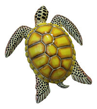 Tropical Sea Turtle Wall Beach Tiki Bar Nursery Bath Decor Yellow  8STW08