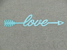 LOVE Arrow Wood Wall Sign Home Decor