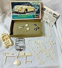 Vintage 1960 Revell Porsche Carrera Model Kit H-1238:139
