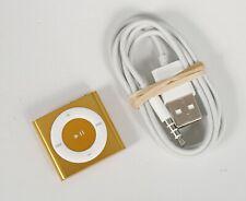 ** EXCELLENT ** Apple IPod Shuffle 4th Generation Orange (2 GB)