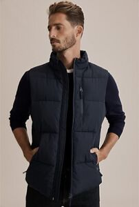COUNTRY ROAD - Down Puffer Warm Outdoor Winter Vest - Ink Blue - RRP $159