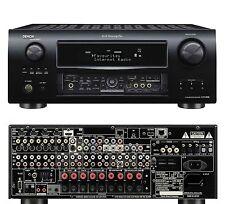 Denon AVR-3808 Home Cinema Theatre 5.1 HD AV Receiver Amplifier 5x HDMI Black