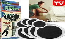 8 X muebles Planeadores Movers Sliders proteger Pisos mover Magic increíble hombres