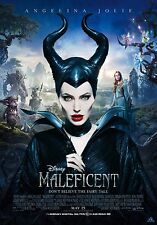 Maleficent (2014) Movie Poster (24x36) - Angelina Jolie, Elle Fanning v2