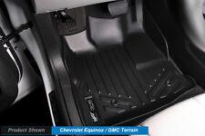 MAXFLOORMAT All Weather Custom Fit Floor Mats Liner for EQUINOX / TERRAIN Black