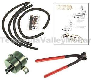 Fuel Vapor Separator - Filter Set for 1970-1971 MoPar E-Body w/426 Hemi & 440