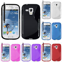 Housses Coque TPU Silicone GEL Soupe S Vague Samsung Galaxy Trend S7560