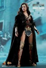 Hot Toys WONDER WOMAN HOODED BLACK CLOAK Justice League Deluxe 1/6 USA