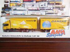 AWM Auto-& Verkehrsmodelle mit Werbemodell für Scania