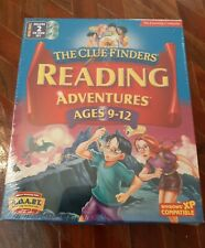 The Learning Company Clue Finders Reading Adventures Ages 9-12 PC Mac CD ROM