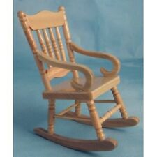 Dolls House Miniatures 1/12th scale Pine Rocking Chair DF992 New *