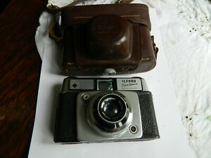 Ilford Sportsman 35 mm Camera with Case