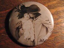Retro Lesbian Pin - Vintage Lesbians Girl Photo LGBT Gay Queer Lapel LGBTQ Pin