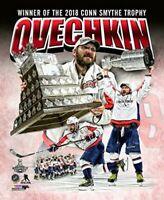 "Alex Ovechkin Washington Capitals Stanley Cup Conn Smythe Photo (Size: 8"" x 10"")"