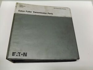 Eaton Fuller Transmission Parts Old Generation models Parts Reference Library